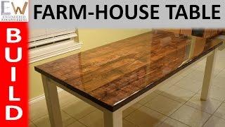 getlinkyoutube.com-Farm-house Table Design 1
