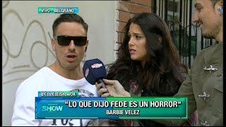 getlinkyoutube.com-Mirá cómo reaccionó Barbie Vélez al enterarse que Fede Bal reveló sus detalles más íntimos