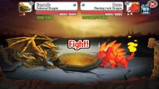 getlinkyoutube.com-Dragon City: All Dunegon Habitats Battle