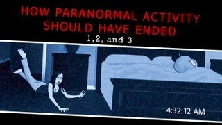 How Paranormal Activity Should Have Ended