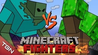 getlinkyoutube.com-MINECRAFT FIGHTERS: ENT LORD VS MUTANT ZOMBIE  G1