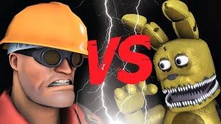 getlinkyoutube.com-TF2 Engineer vs Plushtrap * Fun with Plushtrap   FNAF SFM