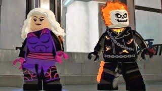 Lego Marvel Super Heroes 2: Desbloqueando o Rhino, Motoqueiro Fantasma e outros!