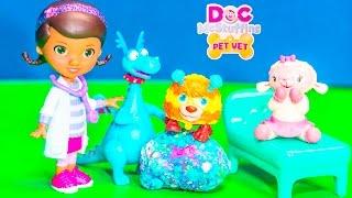 getlinkyoutube.com-DOC MCSTUFFINS Disney Jr  Doc McStuffins Big Giant Squibbles Video Toy Parody