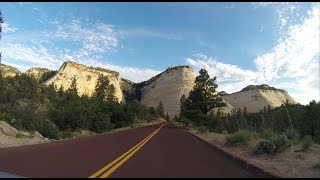 getlinkyoutube.com-Highway 9 through Zion National Park Utah, the best scenic road in the USA