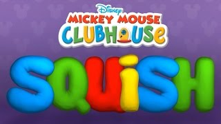 getlinkyoutube.com-Mickey Mouse Clubhouse Clay Maker - Squishing Time (Disney Game for Kids)