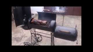getlinkyoutube.com-Мангал своими руками (вертел, гриль, барбекю, коптилка) Видео №1