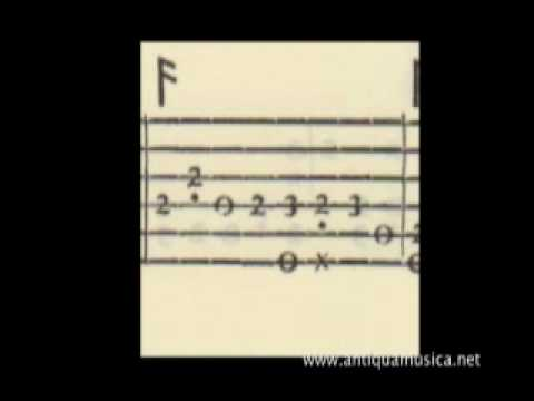 Lute Tutorial n.3 - How to read Lute Tablature (part 2)