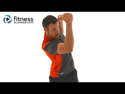 Total Body HIIT and Kick - Cardio Kickboxing and High Intensity Interval Training Combo