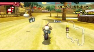 getlinkyoutube.com-[MKWii - TAS] Desert Hills Glitch 1:28.900