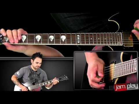 Atreyu Online Guitar Lessons at JamPlay.com - Becoming the Bull Lesson Sample