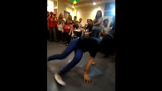 getlinkyoutube.com-Nadine Lustre vs Jollibee BREAKDANCE and Birthday Party (Roosevelt)