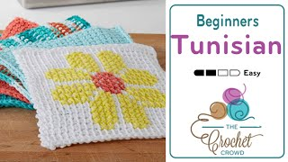 getlinkyoutube.com-How to Tunisian Crochet for Beginners