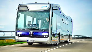 getlinkyoutube.com-Mercedes Self Driving Bus Official Commercial Mercedes Future Bus 2016 Autonomous Bus CARJAM TV