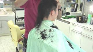 getlinkyoutube.com-『Hair Angel Vol.14』SAMPLE (Buzz cut).wmv
