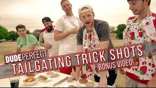 getlinkyoutube.com-Dude Perfect: Tailgating Trick Shots BONUS Video