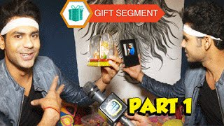 getlinkyoutube.com-Vishal Singh Aka Shakti's Gift Segment | Begusarai | Exclusive Interview - Part 1