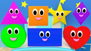 getlinkyoutube.com-Shapes Songs | Nursery Rhymes For Kids And Children | Learn Shapes By Kids TV