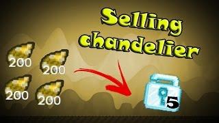 getlinkyoutube.com-Growtopia - Selling Chandeliers For 5 Diamond Locks