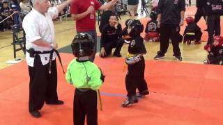 5 and Under sparring