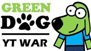 getlinkyoutube.com-GreenDog - YouTube War (Animation)