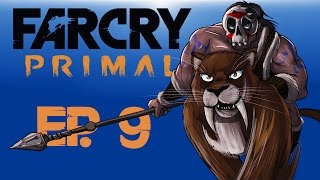 getlinkyoutube.com-Farcry Primal Ep. 9 (BloodFang Saber-tooth Hunting!!) BEAST MASTER!!!