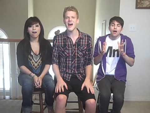 Trio singing Sweet Dreams by Beyonce