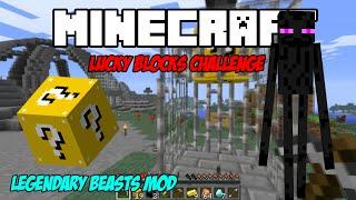 getlinkyoutube.com-Minecraft Lucky Blocks Colosseum:ตีบอสเอนเดอร์ Ender Lord