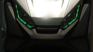 getlinkyoutube.com-Honda Concept City Adventure, Africa Twin Adventure Sport, CB4 e Six50