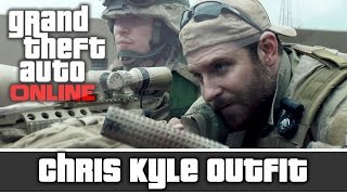 getlinkyoutube.com-GTA 5 Online - American Sniper Chris Kyle Outfit and Customization