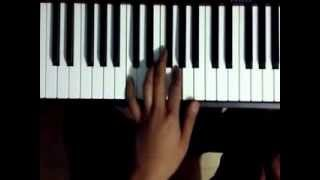 Tagalog Piano Lesson (Kahit di alam magchords) Basic Left Hand