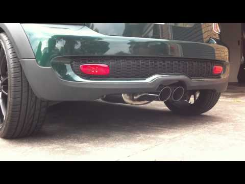Mini Cooper S R56 JCW Factory Exhaust with Evolve Decat