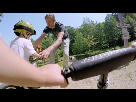 GoPro: Kids Learn to Mountain Bike with Aaron Chase