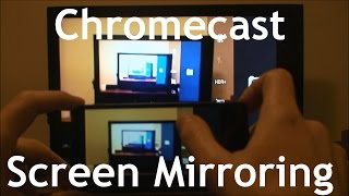 Mirroring Phone Screen to TV via Chromecast