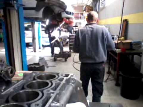 Сборка мотора рено