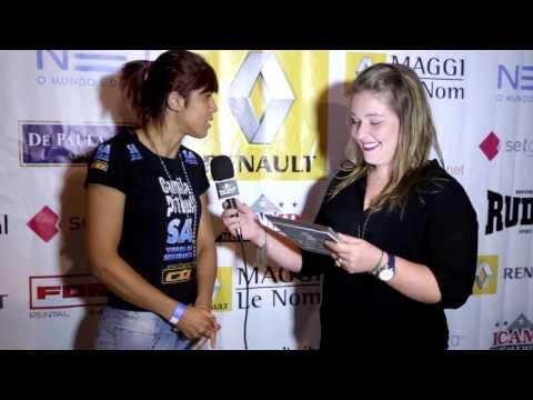 Entrevista Camilinha Pitbull para o Circuito Talent Renault de MMA - Etapa Indaiatuba 2013