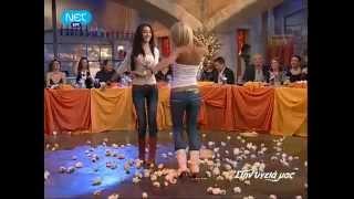 getlinkyoutube.com-Greek Music - Sexy Greek Girls dancing Tsifteteli - Greek women - Cifteteli !!!!