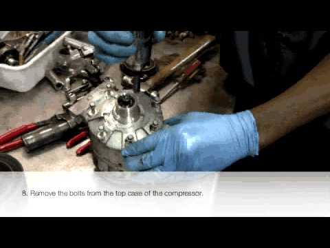 Rebuilding a compressor complete