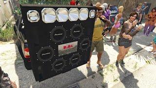GTA V ♠ PACK DE MUSICAS FUNK PESADO COM GRAVE 5 ♠