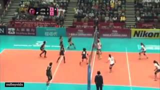 getlinkyoutube.com-Thailand vs Japan Highlights (Thailand) Fivb WGP 2014