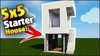 Download Video Minecraft House Tutorial X Modern Lot House - Minecraft modern house 5x5