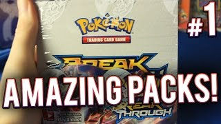 getlinkyoutube.com-Pokemon Cards - 2nd XY Breakthrough Booster Box Opening | PART 1 of 4