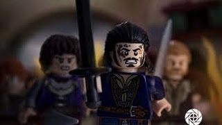 getlinkyoutube.com-The Hobbit the Battle of The Five Armies Official Trailer-In LEGO