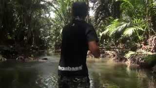 getlinkyoutube.com-Papuan Black Bass fishing 2014 Part-1with Gong Lei