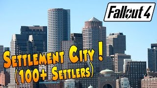 getlinkyoutube.com-Fallout 4 - Settlement City