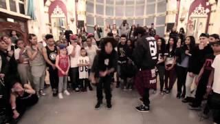 getlinkyoutube.com-Les Twins & Bouboo London 13/05/2014 filmed by KAYZAR
