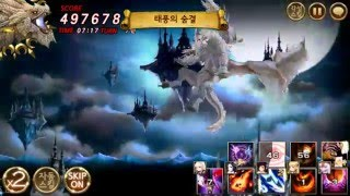 getlinkyoutube.com-Seven Knights World boss (White Dragon).
