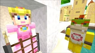 getlinkyoutube.com-Minecraft Wii U - Super Mario Series - Peach is a MOM? [91]