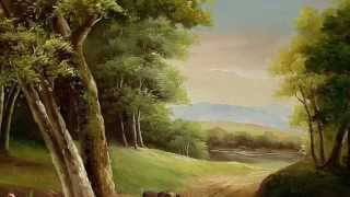 getlinkyoutube.com-درس رسم منظر طبيعي بألوان الإكريلك للمبتدئين -الجزء الاول