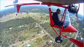 getlinkyoutube.com-Flying the TYRO recreational (ultralight) aircraft